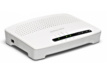MODEM ROUTER WIRELESS 150MBPS TECHNICOLOR MODEL TG582N RICONDIZIONATO